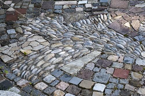 Interessant Gepflasterte Kleine Terrasse Bild Kaufen 12174832