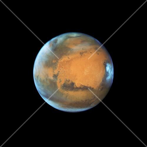 Mars, May 2016, HST image