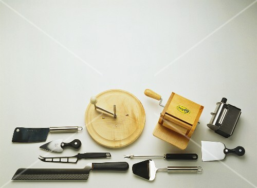 Assorted Tools For Cutting Cheese