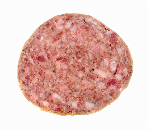 Salame cotto (cooking salami, Italy)