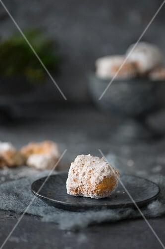 Doughnuts with powdered sugar