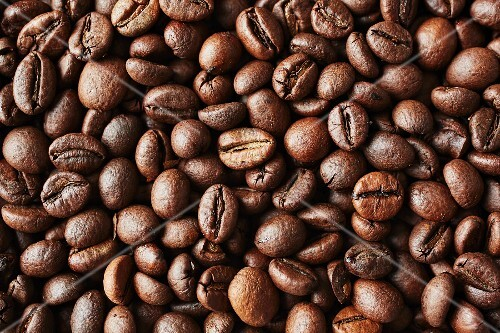 Unground coffee beans (full image)