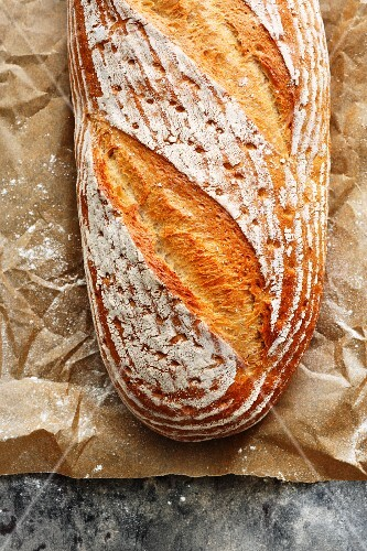 Homemade quark bread
