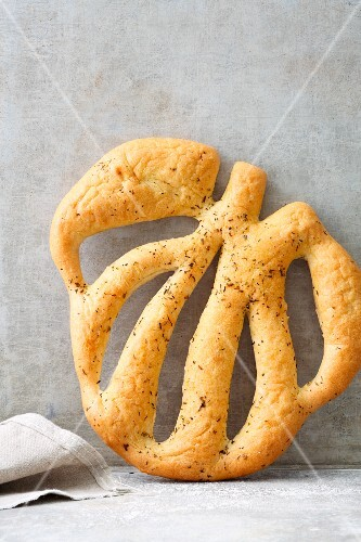 Fougasse, a flat bread from France