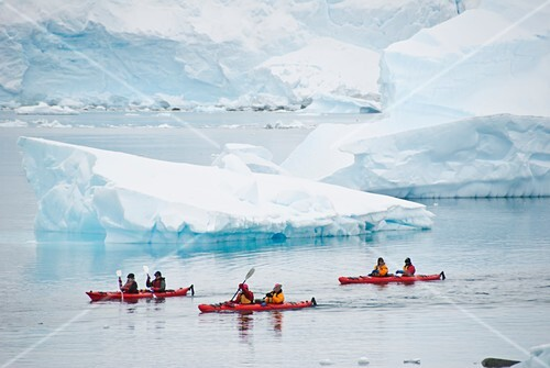 Sea kayaking,Antarctica