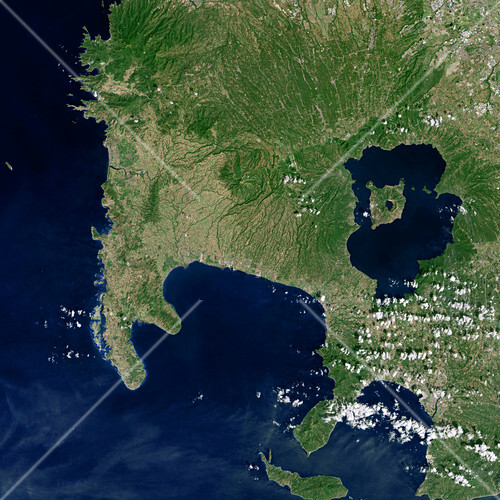 Luzon island,satellite image