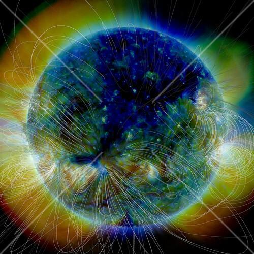 Coronal hole,SDO image