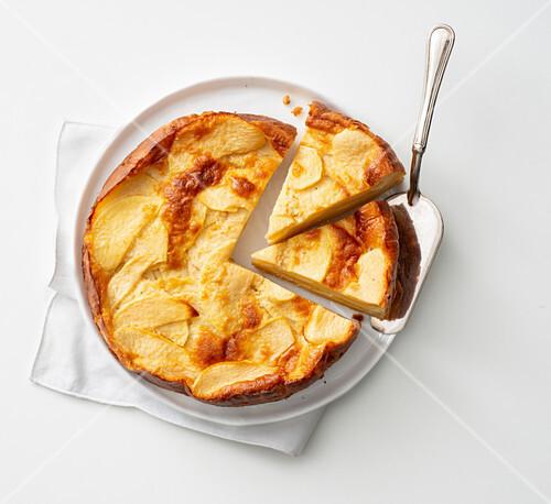 Apfelkuchen ohne Butter