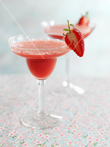 Sweet chili strawberry daiquiri
