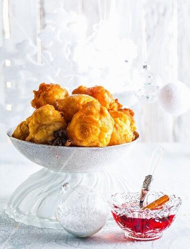Pumpkin tempura for Christmas