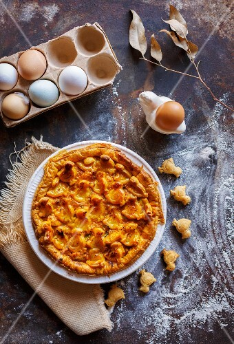 Chicken pie for Easter