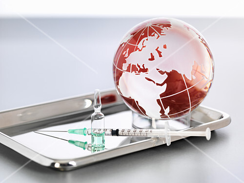 Worldwide pandemic, conceptual image