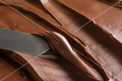 Chocolate cream (full frame)