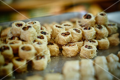 Tulumba Tatlisi (Turkish sweets)