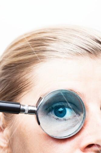 Eye test, conceptual image