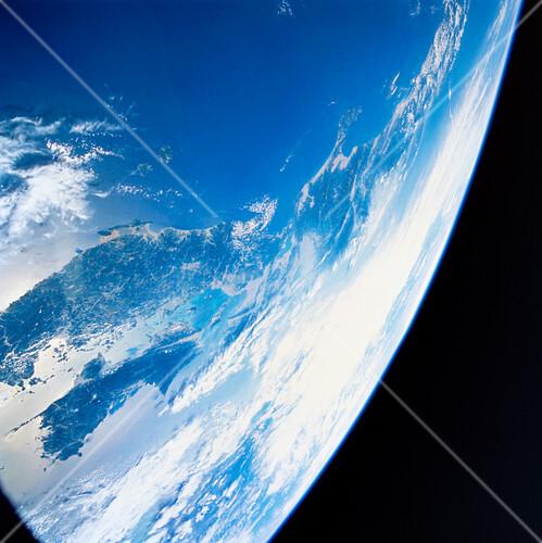 Japan, space shuttle image