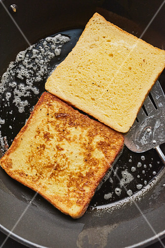 Pan-fried toast