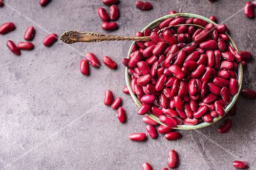 Red beans in bowl