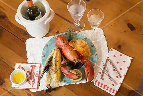 Lobster Bake (lobster dish, USA)