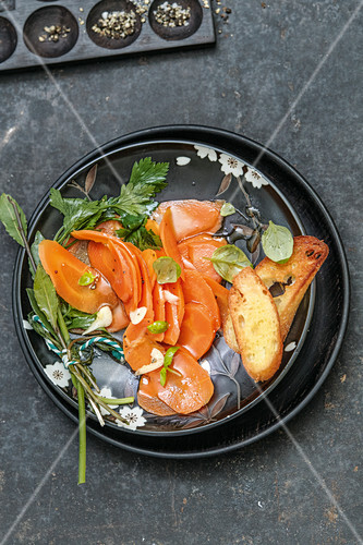 Marinated carrots, Italy