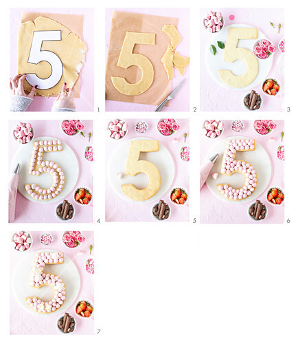 How to make a number shaped cake