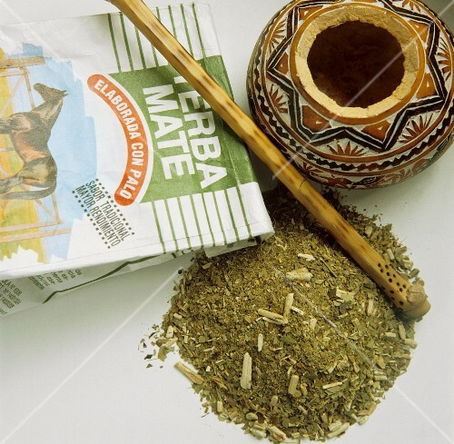 Loose Argentina Tea with Package; Yerba Mate