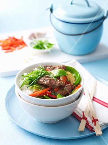 Stir-Fried Mongolian Lamb