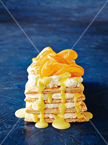 Orange mille-feuille