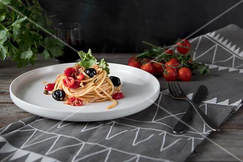 Spaghetti all Puttanesca