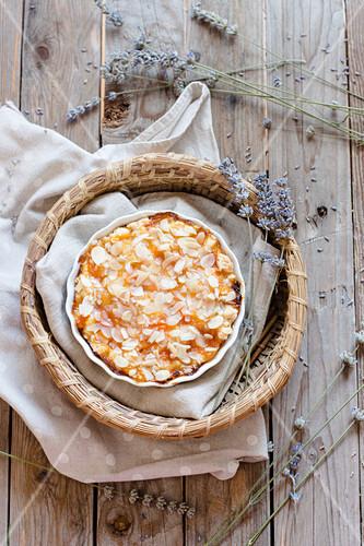 Almond and Apricot Tart