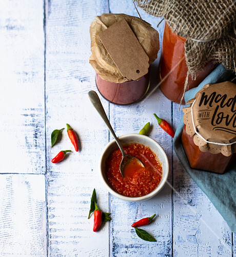Home-made Chili sauce