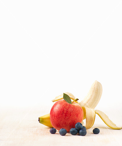Apple, Banana and Blueberry