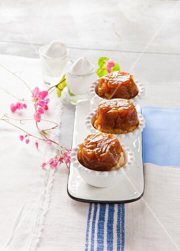 Mini tarte tatins