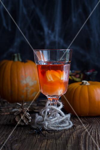 A Halloween cocktail