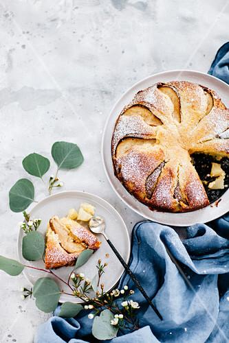 Easter ricotta and lemon cake