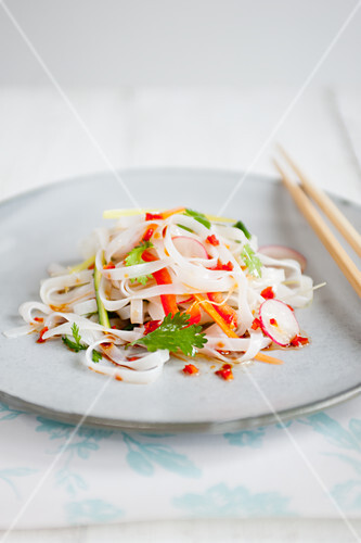 Asian Style Vegetable Noodles