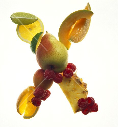 Fruit Forming the Letter X
