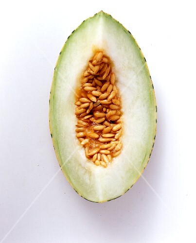 Slices of Turkish musk melon