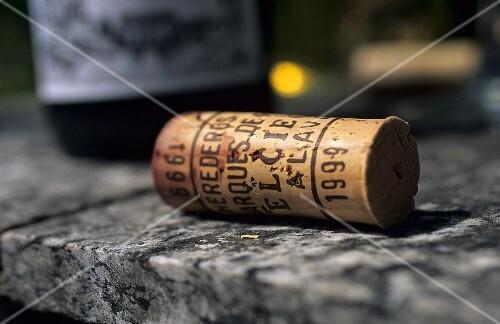 'Marqués de Riscal' wine cork, Rioja, Spain