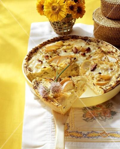 Sauerkraut tart (Switzerland)