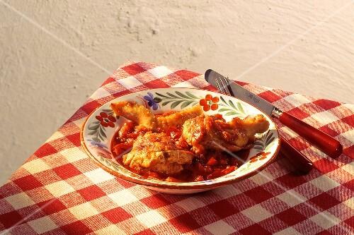 Ungarisches h hner p rk lt bilder kaufen 191134 stockfood for Ungarisches paprikahuhn