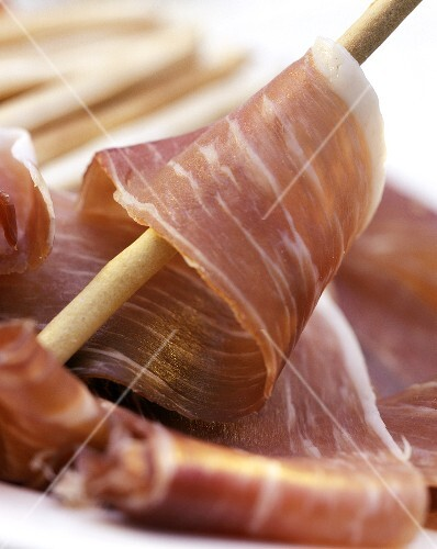 Parma Ham, Grissini
