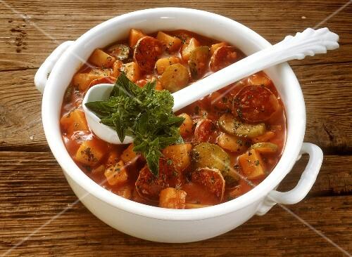 Spicy Potato Goulash