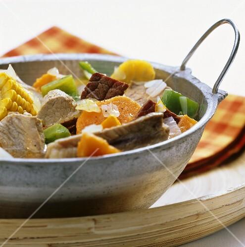 Ajiaco Criollo (Creole stew)