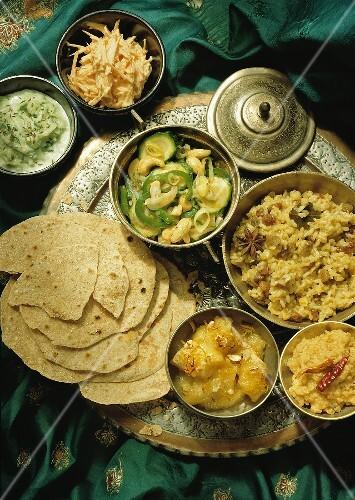 Indian Rice Tableau