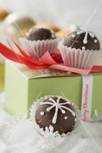 Chocolates to give as a Christmas gift