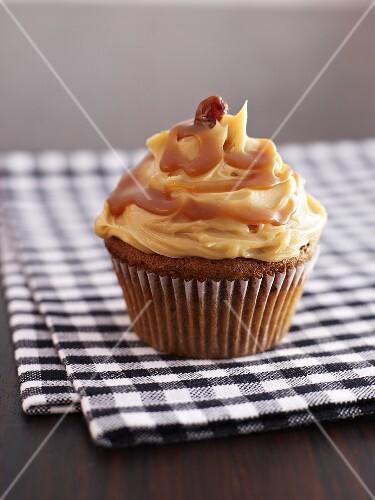 Toffee cupcake