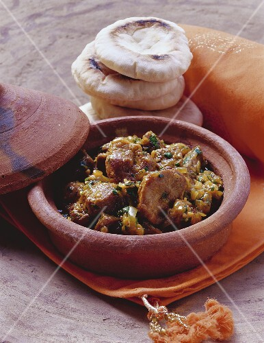 Tanjia (braised lamb, Morocco)