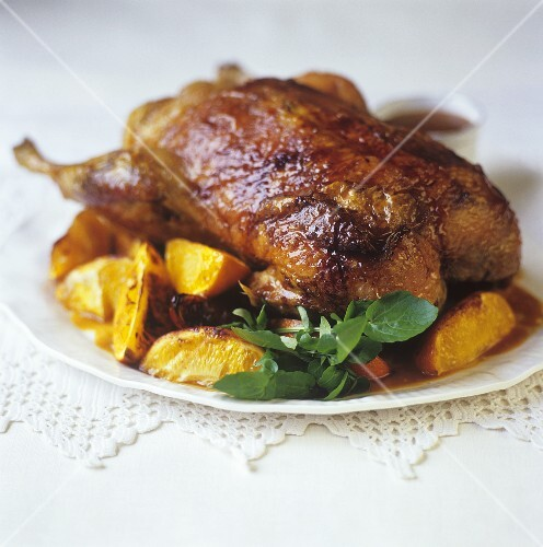 Canard à l'orange (Duck with oranges, France)