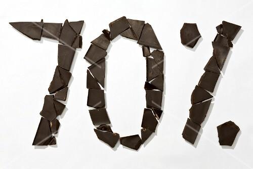 Image symbolising 70% cocoa solids